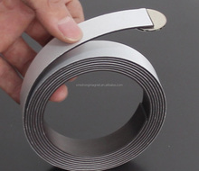 rubber magnetic sheets rubber magnet strip and tape with 3m adhesive