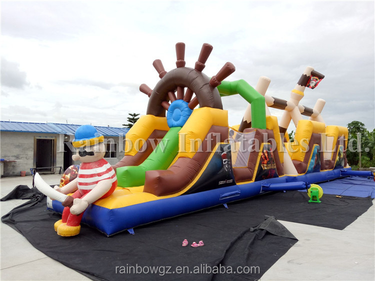 Giant Inflatable Game/Inflatable Pirate Obstacle Courses for Sale