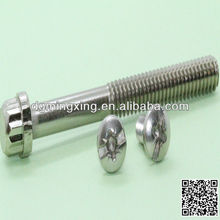 double ended screw bolt raw thread plus thread screw