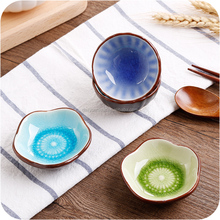 The Most Popular Crack Glaze Cheap Dishes Ceramic Seasoning dish