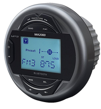 Marine audio, waterproof with Bluetooth function