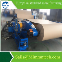 Good Slitting Quality Slitter Rewinder Machine Paper Roll with Synchronous Belt