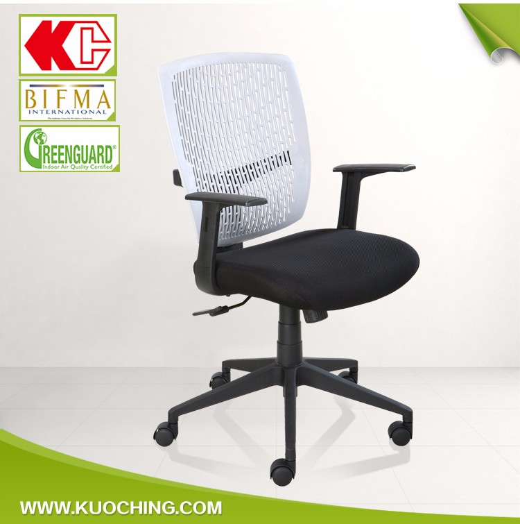 Elegant Mid Back With Armrest Office Chairs Bangalore