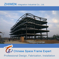 Chinese Steel Frame Warehouse Construction