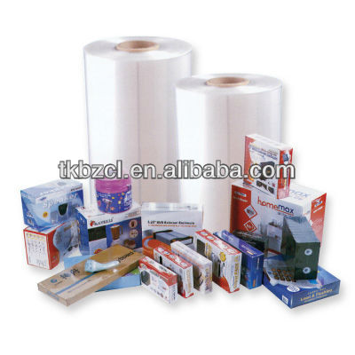 five layers pof shrink film (SGS & FDA approved)