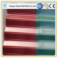 thickness 0.15mm 0.2mm 0.5mm pre-painted galvanized roofing sheet/PPGI PPGL corrugated roofing tiles/panel