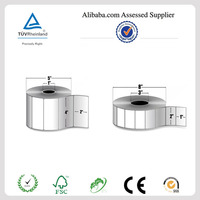 Barcode thermal adhesive label paper plant
