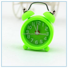 2014 best promotion gifts mini alarm clock with 3D hand