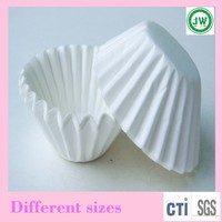Plain white cupcake liners baking paper cups cupcake muffin cases disposable cake molds wedding Favor