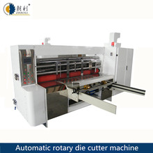 Factory price full automatic paperboard rotary die cutter machine pizza box making machine