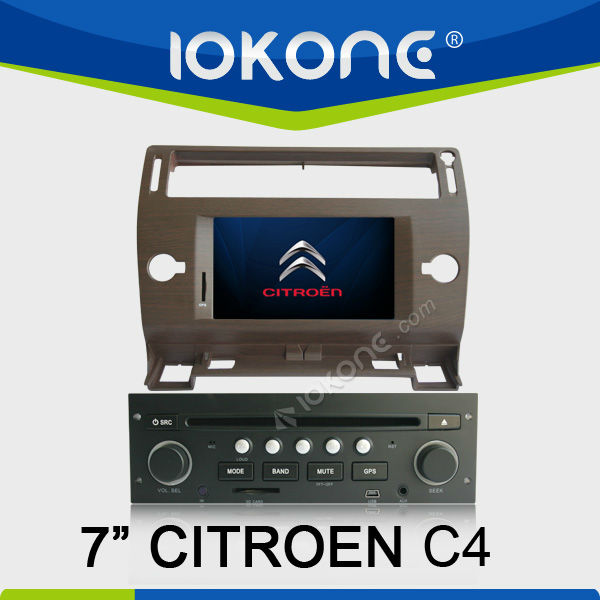 Citroen C4 touchscreen gps in dash led screen car stereo