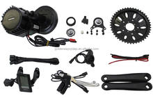 Green power DIY electric bike kit bafang/8fun motor bbs-02 36v 250w crank mid drive motor conversion kit