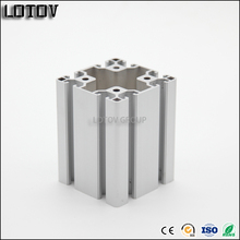 Manufacturer T slot extruded aluminium profile for assembly frame workbench