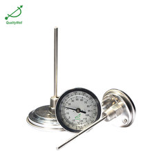 Factory Price Hot Sale Gas Filled Capillary Bimetal Thermometer