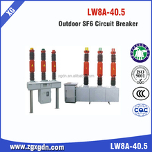 Lw8-40.5KV 1600-2500A High Voltage SF6 gas Circuit Breaker