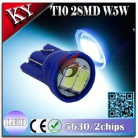 auto led wedge dashboard light T10 socket 2smd led instrument lamp bulb