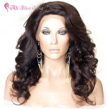 130% Density Natural Invisible Hairline Wholesale Cheap 100 Percent Human Hair Brazilian Body Wave Full Lace Wig for Black Women