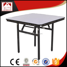 Round and Square wooden folding table