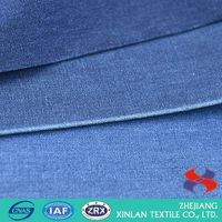 Factory Sale different types cotton denim polyester fabric from manufacturer
