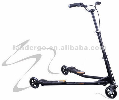 Kids 3 Wheel Scooter Tri Motion Slider Winged Scooter Speeder Scooter