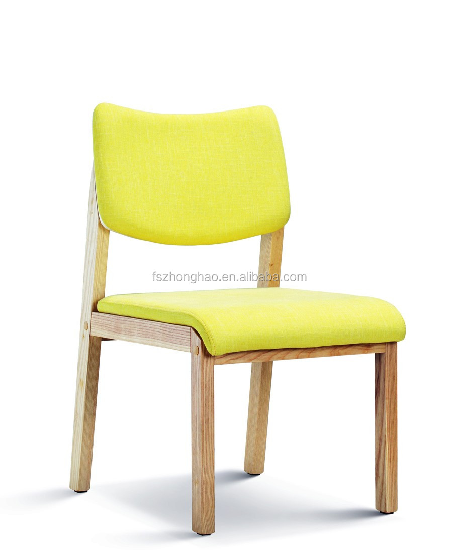 Solid Wood Restaurant Furniture Armed Wood Chair Coffee