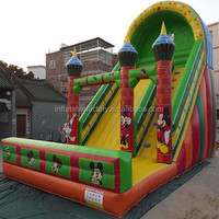 Adult Size Jumping Water Slide for Rental