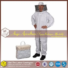 Round hat beekeeping coverall suit for beekeeper
