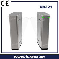Optical security entrance automatic access control flap barrier turnstile gate