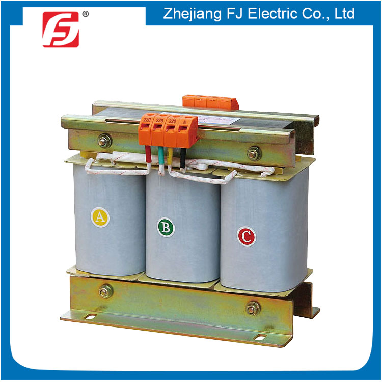 Three Phase H-class Insulation Dry-type 3 KVA Step Down Transformer 440V To 110V
