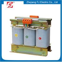Three Phase H-class Insulation Dry-type 3 KVA Step Down Transformer 440V To 110V
