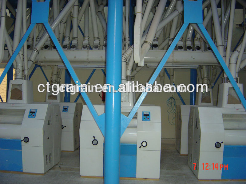 High quality machine grade low price small wheat flour mill With Good After-sale Service