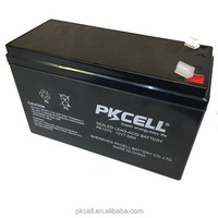PKCELL Top Quality Gel Battery 12V 7AH Dry Batteries For UPS