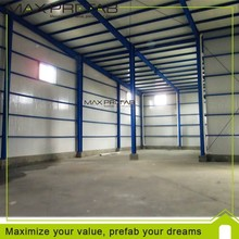 used steel structure prefabricate warehouse