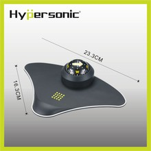 Hypersonic HP2731 Deluxe car compass with anti non slip mat