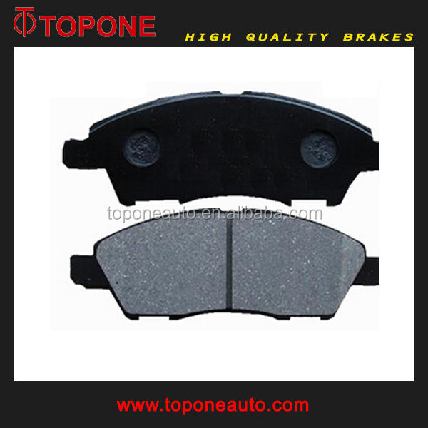 Brake Pad With Copper For Nissan NOTE for NISSAN TIIDA Ceramic Disc Brake Pad Parts D1345 A675K 24682