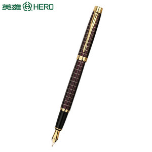 New model engraved metal fountain pen luxury business gift