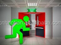 EN60598-2-22 led remote control 2835 SMD emergency lamp exit sign led lighting with CE and RoHS