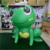 Cute New Design Giant Air Animal Model / Decorative Inflatable Frog for Display