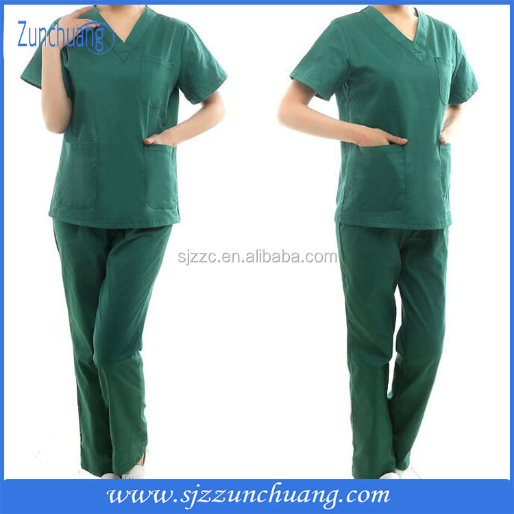 MEDICAL UNIFORM SCRUBS SET