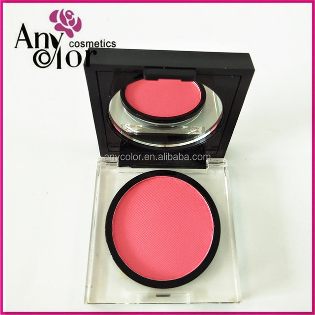 hot selling single color makeup private label kiss beauty blusher
