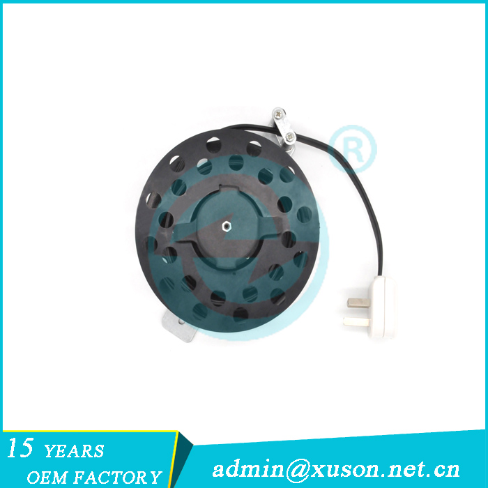 Multi-purpose socket retractable cable reel for vacuum cleaner