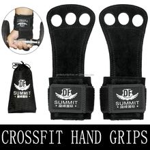 Crossfit Leather Palm Protectors Hand Grips Glove Gymnastic Grips