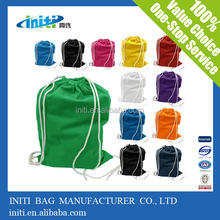 eco friendly nonwoven blank drawstring bags