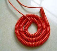 Coiled cord Cable