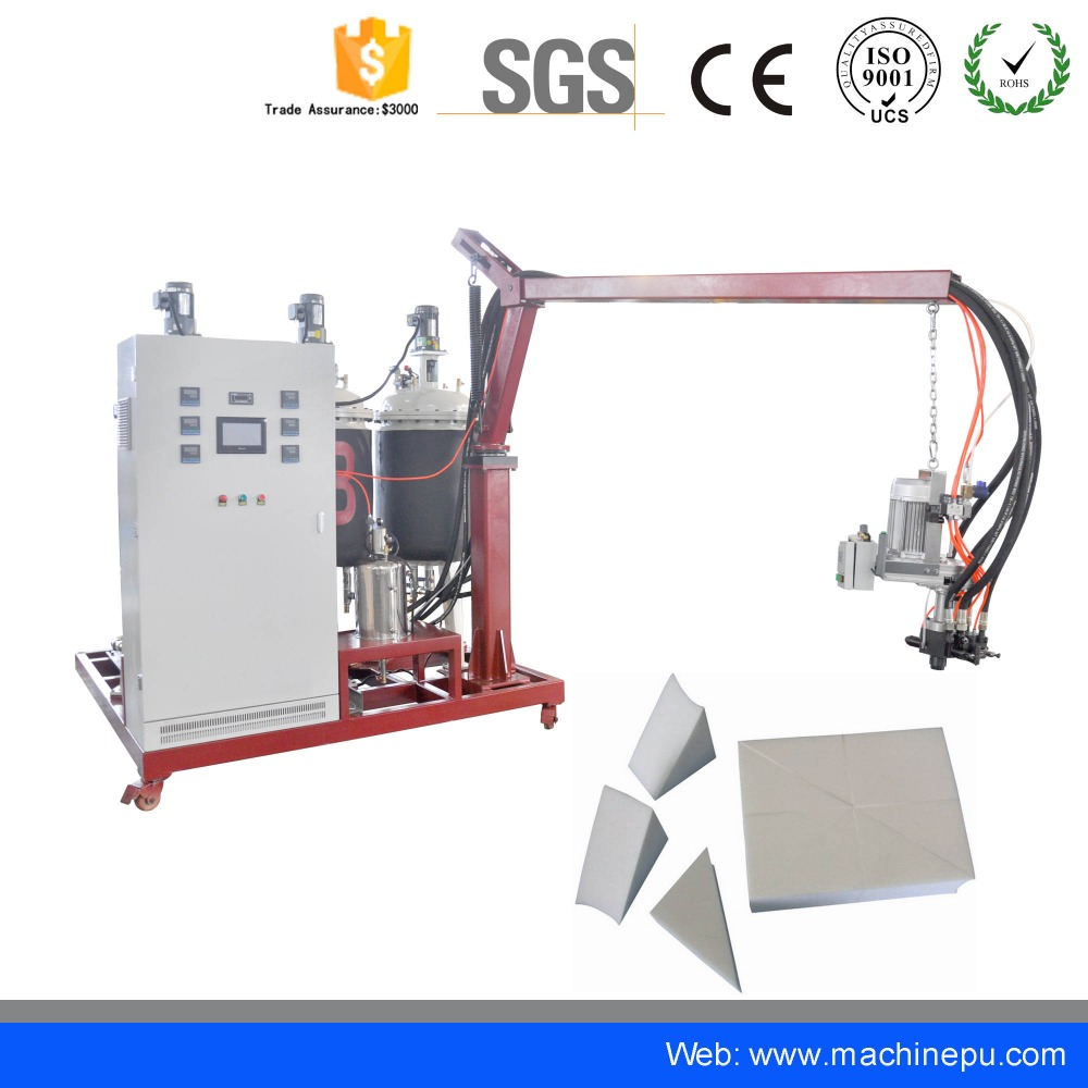 Low pressure used injection moulding pu polyurethane foam machine for model