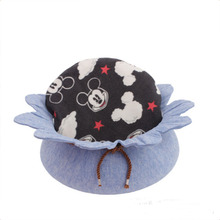 Top quality Durable pet round cute rabbit cushion Small dog nest cat bed