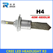 led headlight H4 auto lighting system CE E-Mark DOT factory direct canbus led headlight 2015