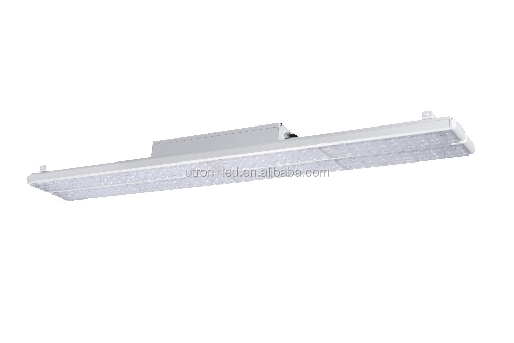 High ROI Metal Halide Replacement Rectangular LED High Bay Light with Emergency Dali Daylight Motion Sensor Highbay