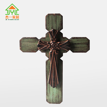 Baltic Birch Squared Cross or Cheap Religious Gift Unique metal Decorative Wall Hanging Crosses for home decor