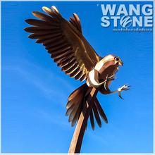 Corten Steel Animal Metal Eagle Sculpture